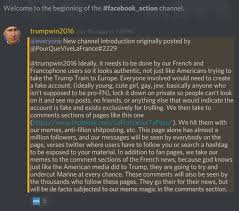 Trump Supporters Online Are Pretending To Be French To Manipulate
