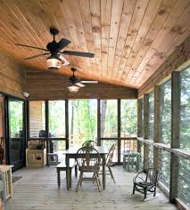 rustic ceiling fans porch traditional with fan dining bench