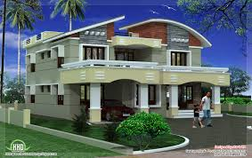 double storey luxury home design kerala house architecture plans