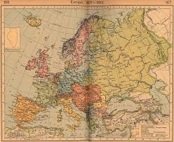 Europe After Ww1 Map by Maps A Map Of Europe Before Ww1