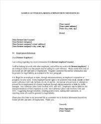 Sample Job Referral Request Letter   Cover Letter Templates   employee referral letter Sample Templates