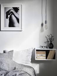 the floating nightstand stadshem bedroom home decor