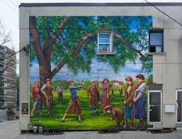 Golf Murals by John Kuna Murals