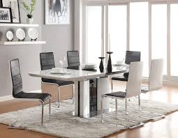emejing modern white dining room table photos rugoingmyway us