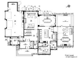 nice ideas contemporary home floor plans 7 modern designs interior