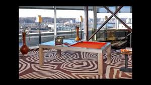 convertible dining room pool table with optional neon lights youtube