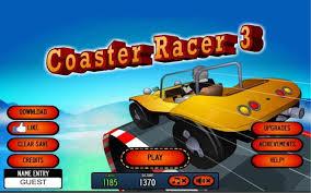 コースターレーサーゲーム