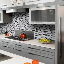 Smart Tiles Muretto Alaska  In W X  In H Peel And Stick - Peel on backsplash
