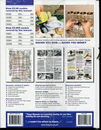 haynes kawasaki zx636 zx600 zx6r zx6rr 2003 2006 service repair
