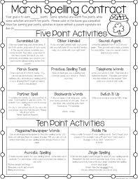 Spelling Activities For  nd Grade Homework    nd grade spelling
