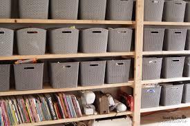 Building Wood Shelves For Storage by Diy Wood Shelf Craft Storage