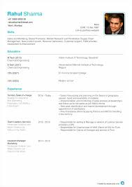 Resume Pattern For Job Application by Download Format Of A Resume Haadyaooverbayresort Com