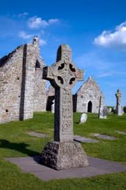 Celtic High Cross   symbols of Ireland     s ancient past Irish Genealogy Toolkit