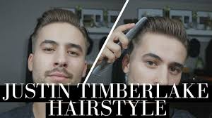 justin timberlake hairstyle classic gentleman hairstyle mens