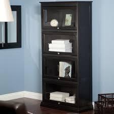 Sauder Black Bookcase by Furniture Modern Barrister Bookcase Dimensions Ideas