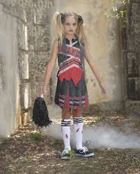 Halloween Girls Costume Zombie Cheerleader Costume Girls Halloween