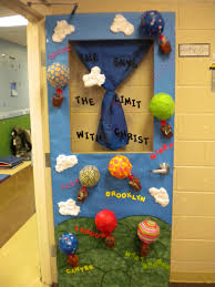 classroom door decoration the sky is the limit with mrs