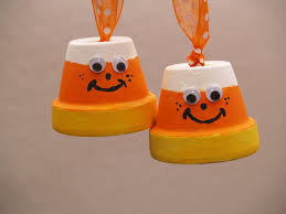 halloween crafts with candy candy corn and bat halloween ornaments housewife eclectic