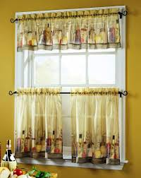fresh awesome rooster kitchen curtains valances 14224