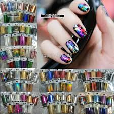 24 style feather nail decal sticker 3d nail art wrap tip tips