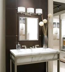 Ideas For Bathroom Mirrors Bathroom Lighting Fixtures Over Mirror 40 Fascinating Ideas On