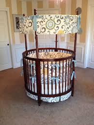 classic baby round cribs ideas 12 amazing circular crib bedding