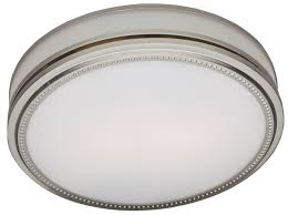 riazzi bathroom fan with light and nightlight brushed nickel