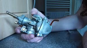 carburetor rebuild basics suzuki a100 youtube