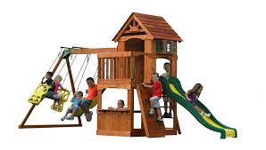 Cedar Playsets Learn More About The Atlantis Wooden Playset This Backyard