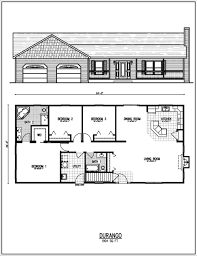 Small 3 Bedroom House Floor Plans by Wonderful Ranch Home Floor Plans Small Style House Rancher And Ideas