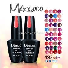 2016 mixcoco gel polish color uv gel polish nail wholesale gel