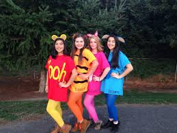 Halloween Costume Monsters Inc Diy Winnie The Pooh And Friends Costume Under 15 Each Diy