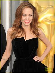 Angelina Jolie Oscars 2012 Golden