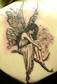 Fairy and Angel Tattoos