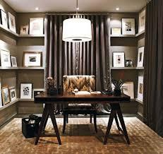 Solid Oak Office Furniture by Modern Black Wooden Office Desk Decor With Brown Varnished Top