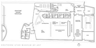 Auto Floor Plan Rates The Building Southern Utah Museum Of Art College Of Performing
