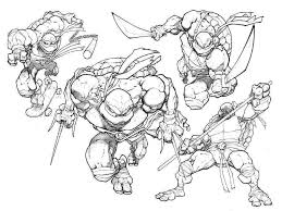 coloring pages ninja turtle coloring pages online teenage mutant
