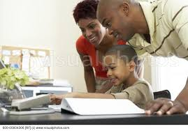 Parent Helping Child To Walk   Stock Photos   Royalty Free     Visualphotos Parents Helping Son with Homework