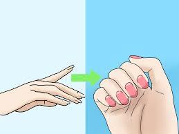 3 ways to shape acrylic nails wikihow