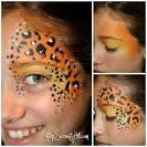 paint cheetah face