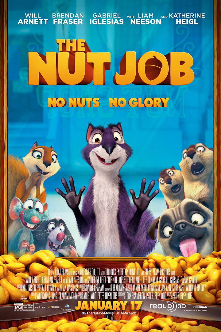 The Nut Job 2014 BluRay 720p 350MB ( Hindi – English ) ESubs MKV