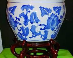 fish bowl planter etsy
