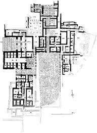 Palace Floor Plans by Minoan Architecture The Palaces