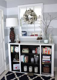 two toned bookcase from a dining room hutch the homes i have made