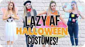 style halloween costumes lazy af diy halloween costumes 2016 youtube