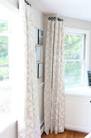 curtains hanging curtain decorating best 25 ribbon ideas on