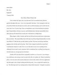 Essay Essays For College Admission Example Of A Personal Essay For