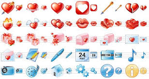 Delicious Love Icon Pack   Ready made icons for online dating sites