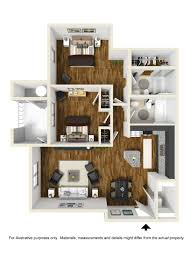 two bedroom standard the morgan at eastchase