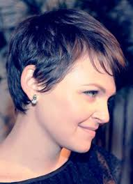 ginnifer goodwin rear view of pixie cut back to post ginnifer